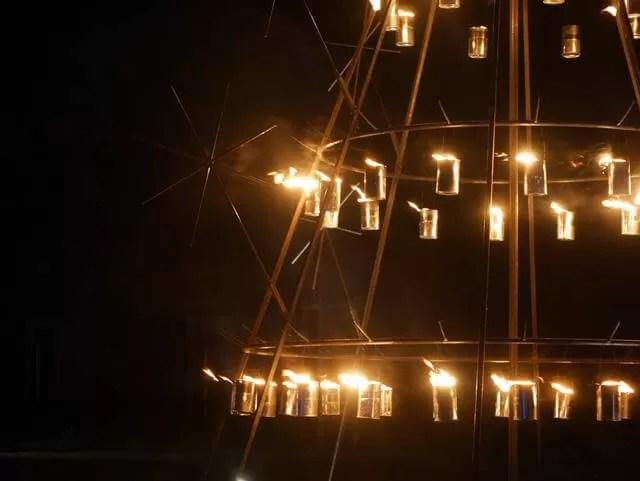 fire light display