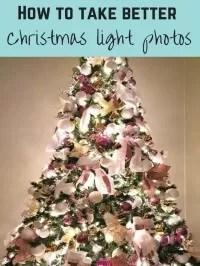 taking christmas photos