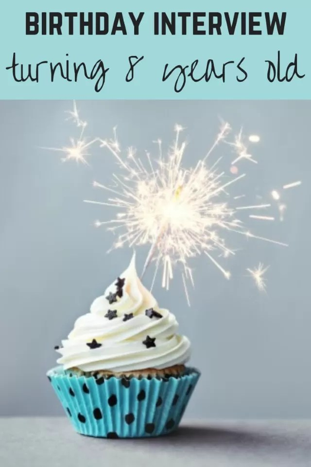 8th birthday interview - Bubbablue and me