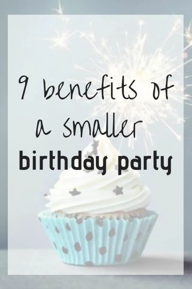 benefits of a smaller party