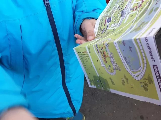 looking at the wicksteed map