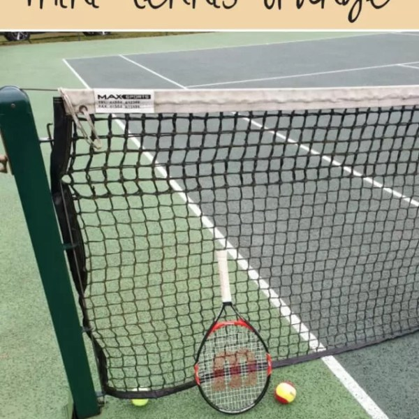 Playing up in tennis – mini orange tennis
