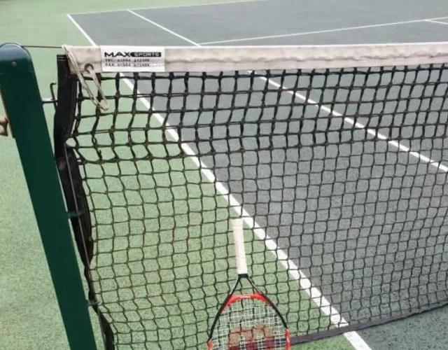 Playing up in tennis – mini orange tennis