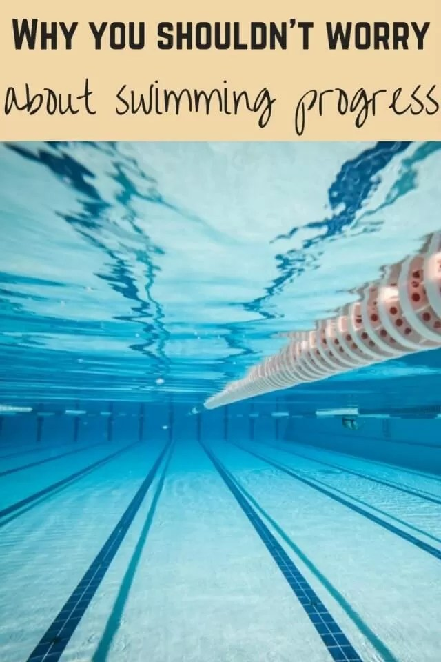 swimming level progress - Bubbablue and me