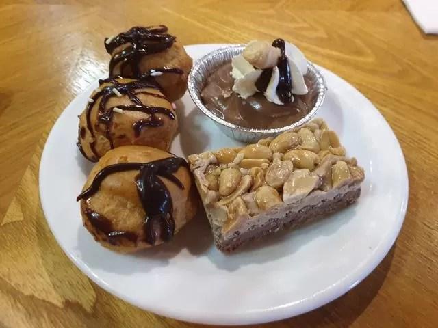 chocolate dessert choices