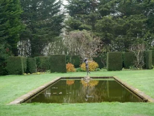 lily pond at waterperry gardens