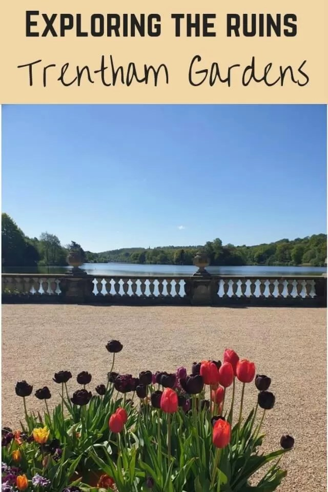 Exploring Trentham Gardens ruins - Bubbablue and me