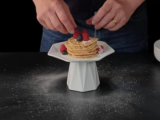 pancake photo styling