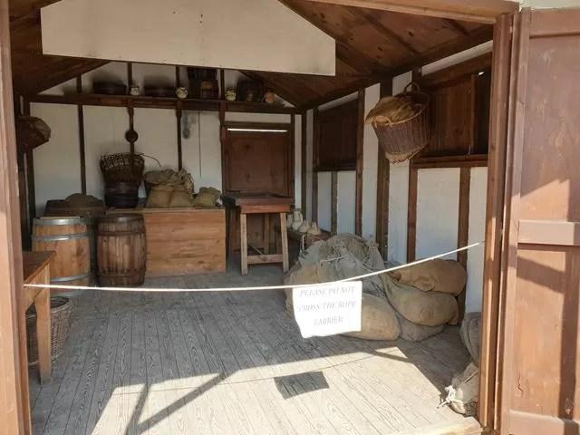 roman granary store