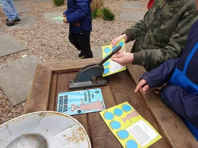 stamping maze leaflet stage