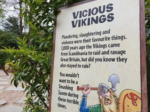 vicious vikings maze sign