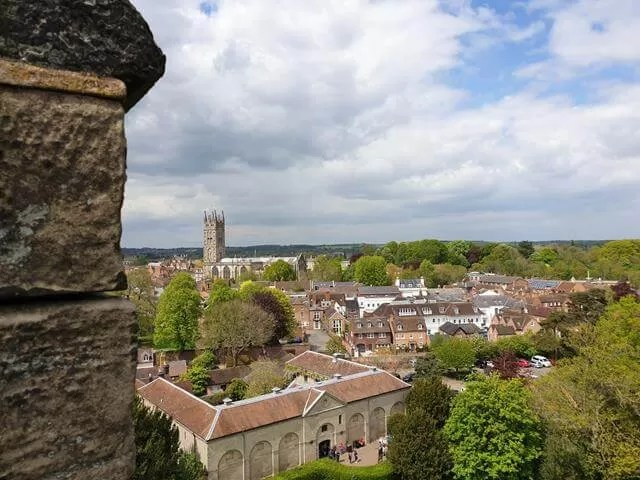 view over warwick