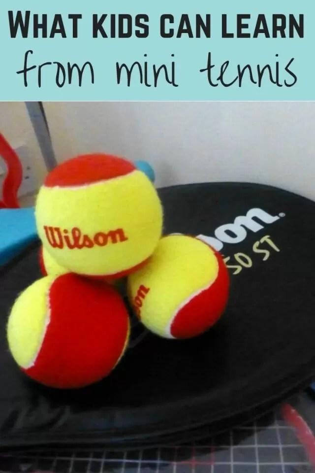 what mini tennis teaches - Bubbablue and me