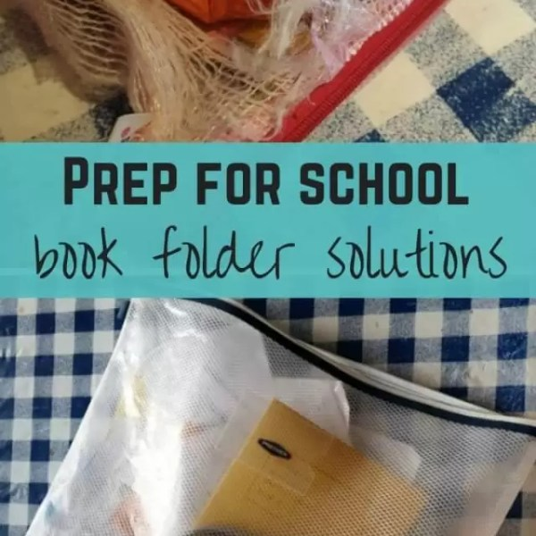 Being prepared for school – Book folders solutions
