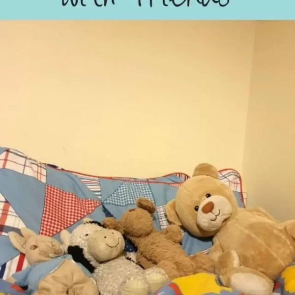 A first sleepover with friends