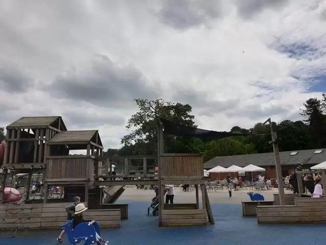 pirate play area at beale park
