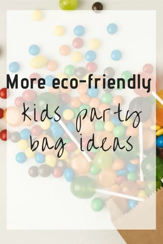 eco friendly kids party bags - Bubbablue and me