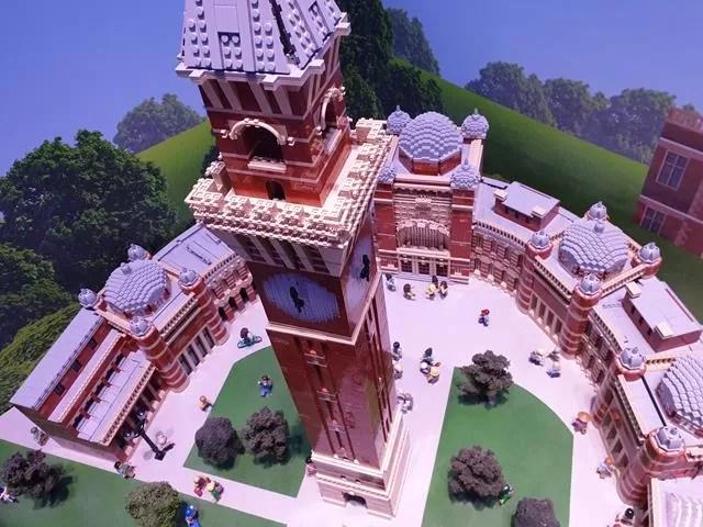birmingham university from lego