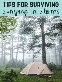 storm ready camping