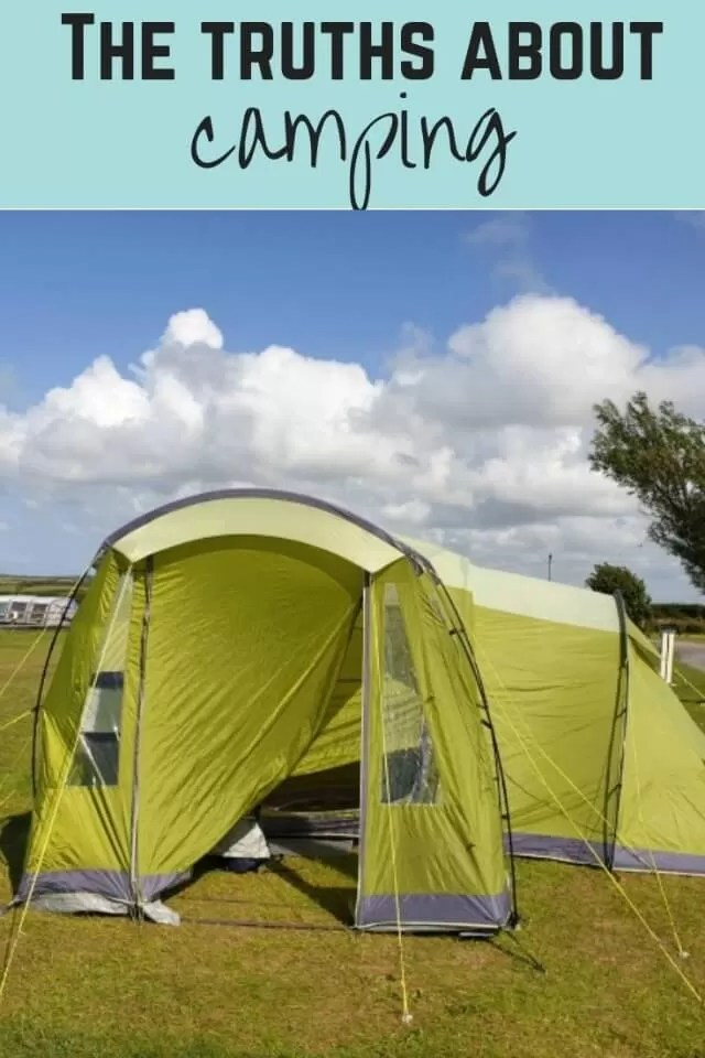 truths about camping - Bubbablue and me