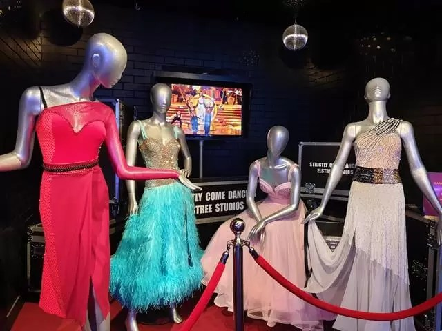 Strictly come dancing dresses