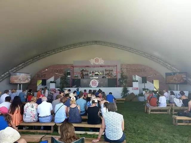 big feastival kitchen tent