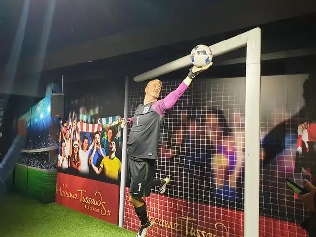 joe hart waxwork