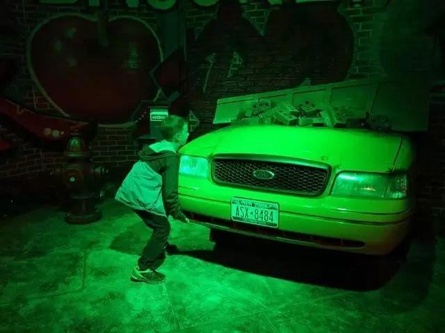 lifting the hulk car