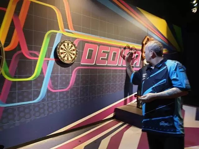 phil the power taylor waxwork