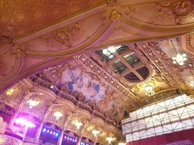 roof at blackpool ballroom