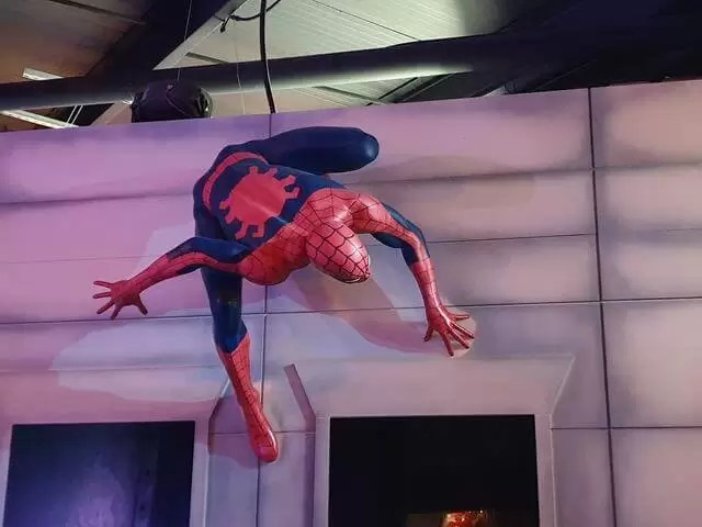 spiderman waxwork