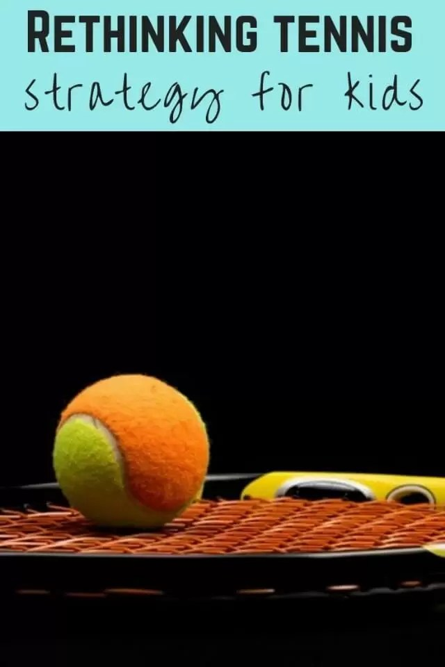 Rethinking childrens tennis strategy - Bubbablue and me