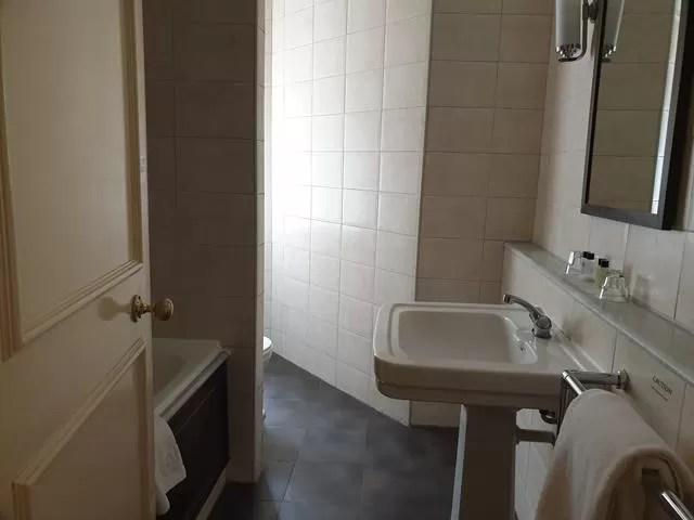 bathroom large sink imperial hotel