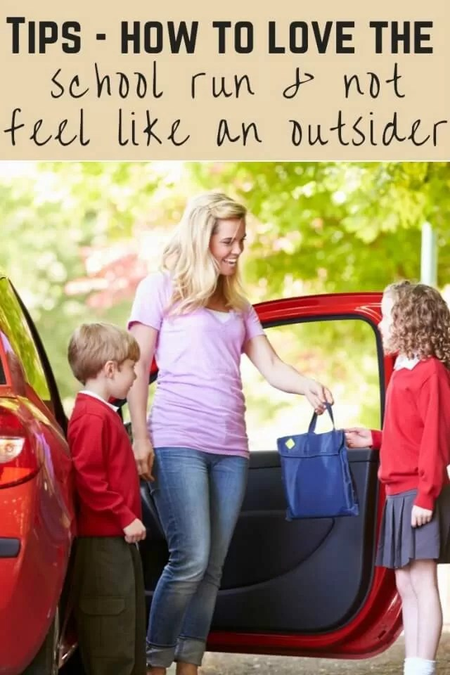 how to not fee like an outsider on the school run - Bubbablue and me
