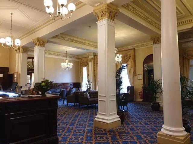 imperial hotel lobby pillars