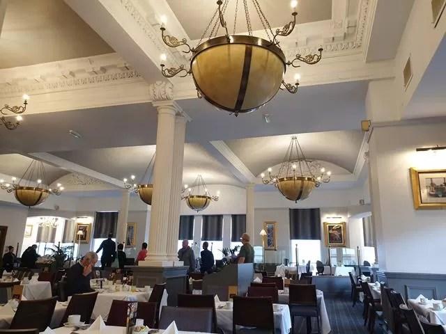 palm court restaurant imperial hotel