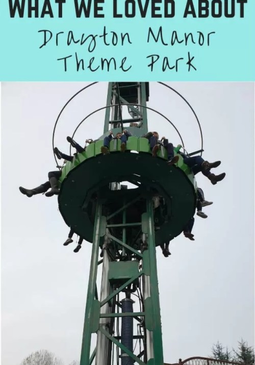 Drayton manor theme park - Bubbablue and me