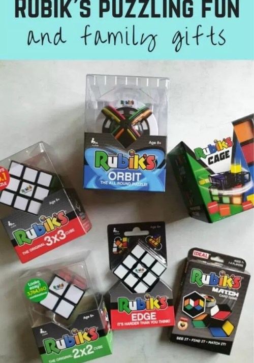 Rubik's puzzles challenge and fun - Bubbablue and me