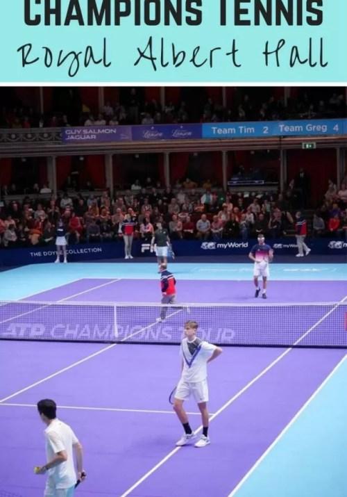Champions Tennis at the Royal Albert Hall.