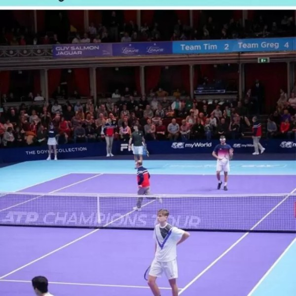 MyWorld Champions Tennis at the Royal Albert Hall