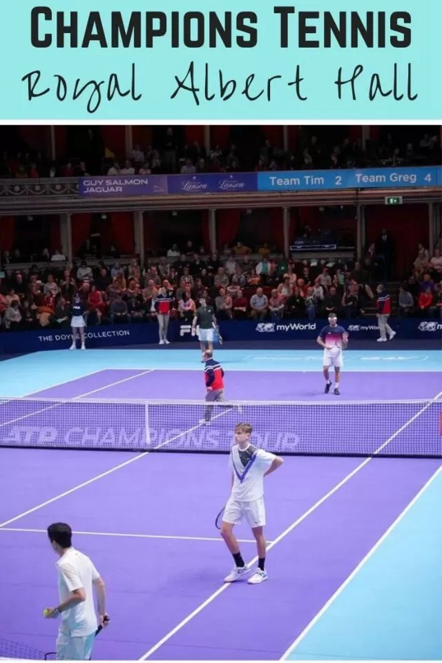 Champions Tennis at the Royal Albert Hall.