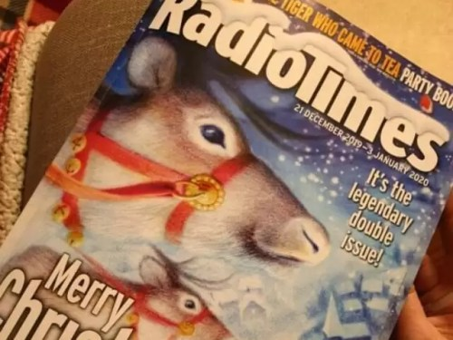 Christmas radio times tradition