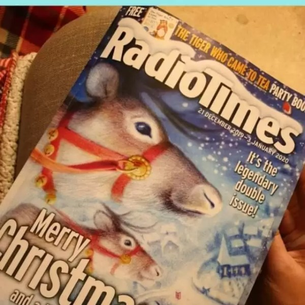 The tradition of the Christmas Radio Times