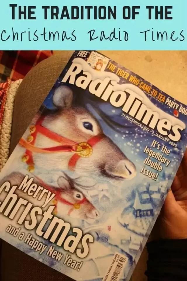 Christmas radio times tradition