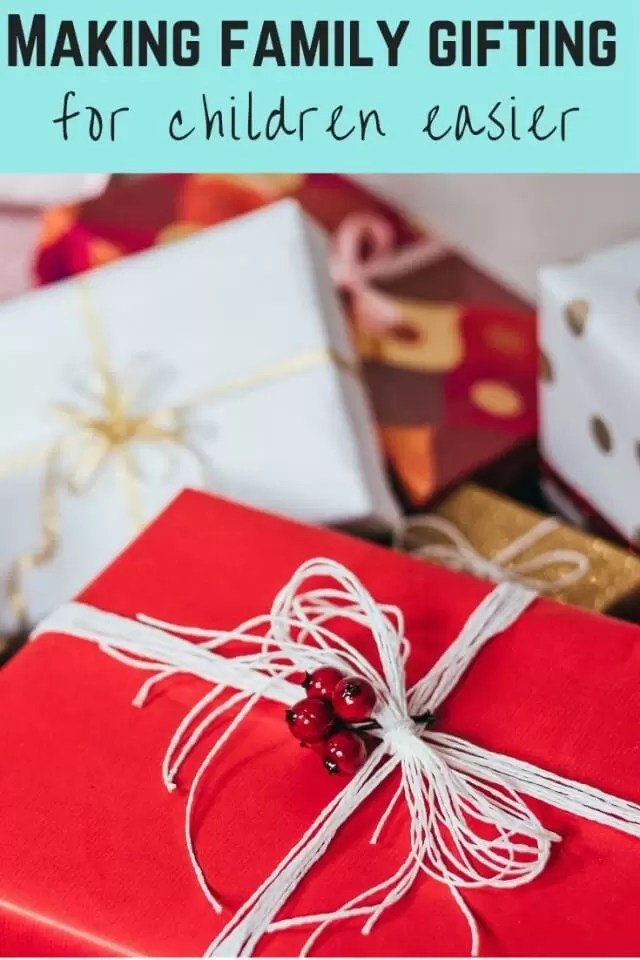 making family gifting easier