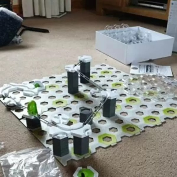 Gravitrax review – the contemporary marble run