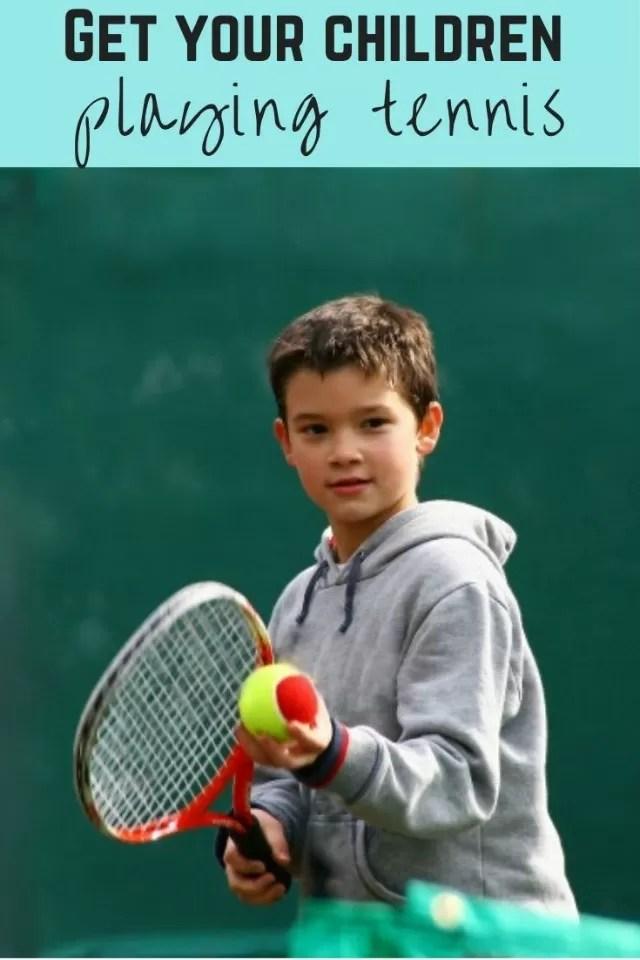 information on kids tennis