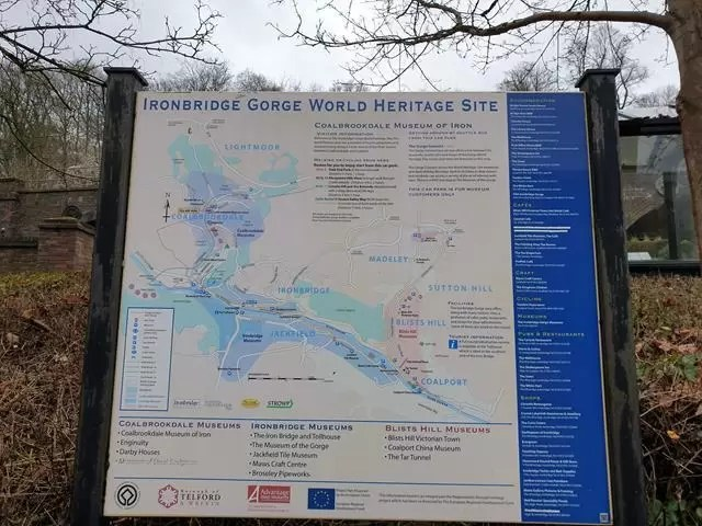 ironbridge map