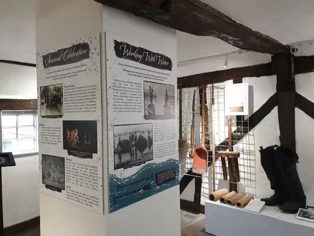 displays in museum of cambridge
