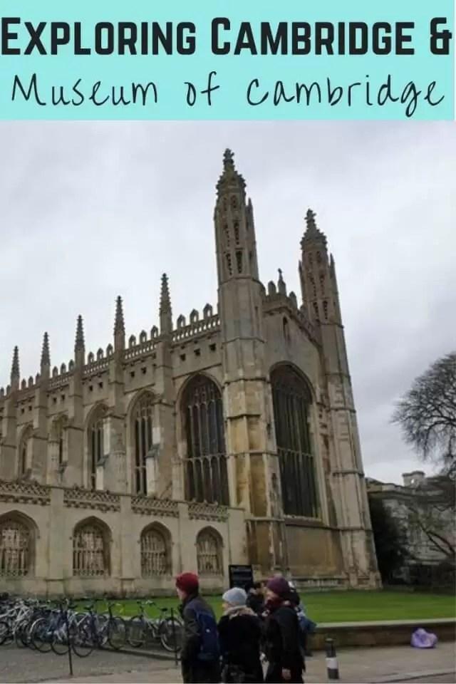 exploring Cambridge and museum of cambridge